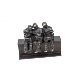 "Escultura obreros ""un trio"""