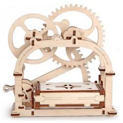 Tarjetero en madera 3D en Snoby