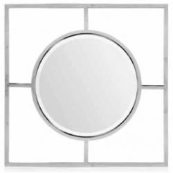 Espejo Cuadrado Acero