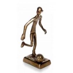 Figura Futbolista color bronce