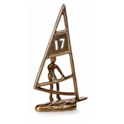 Figura Vela color bronce
