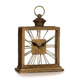 Reloj de mesa en metal...