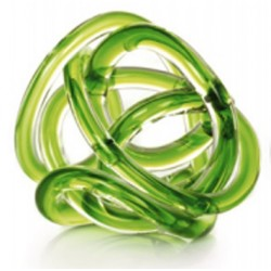 Nudo de Cristal Verde