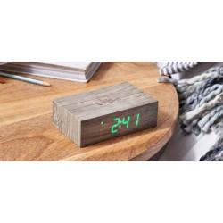 Despertador en madera Ash