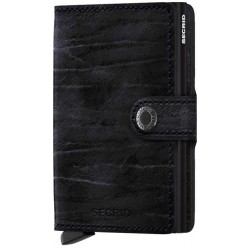 Miniwallet Secrid Negro Dutch
