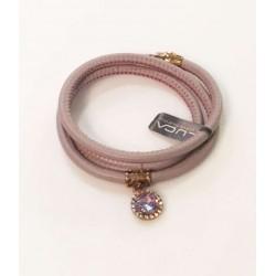 Pulsera luca lorenzini rosa