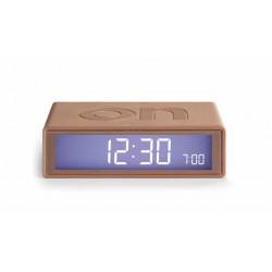 Despertador Flip Lexon Bronce