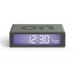 Despertador Flip Lexon Gris