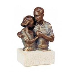 "Escultura ""Pareja Aniversario"""