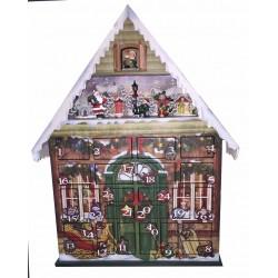 Calendario de adviento navidad