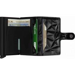 Prism negro mini wallet Secrid en Snoby