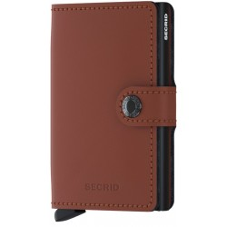 Miniwallet Secrid Mate Marron