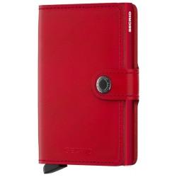 Miniwallet Secrid Original Roja en Snoby