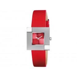 Reloj Elixa Rojo